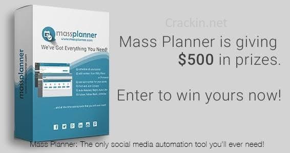 Mass Planner Crack