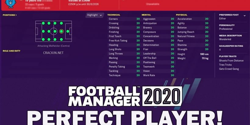 Football Manager 2020 Crack Full Game + CPY PC Download