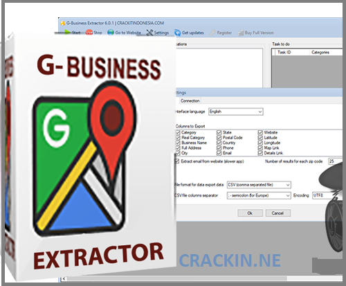 G-Business Extractor 6.0.2 Crack + License Key Download