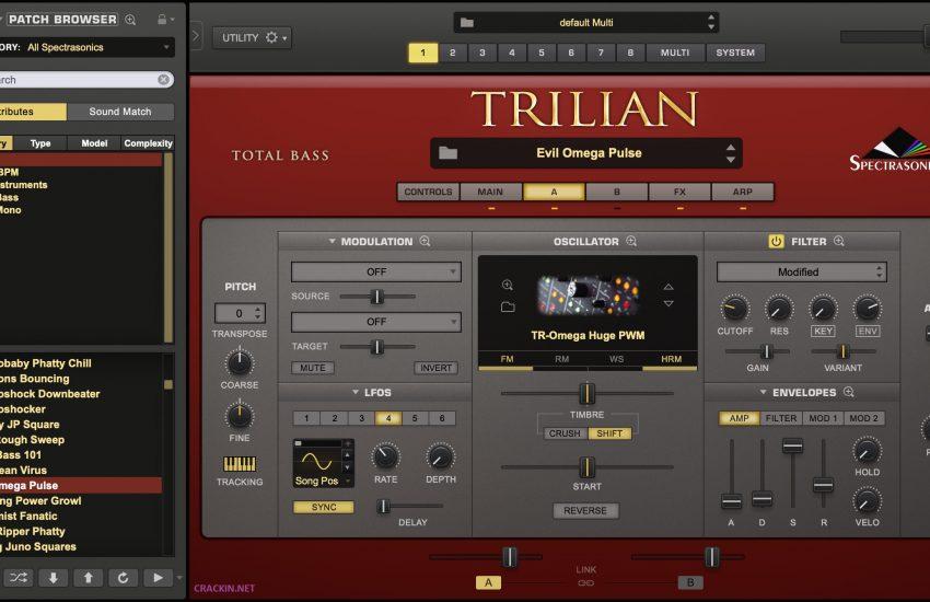 Trilian Bass Vst Crack & Torrent 1.5 Download