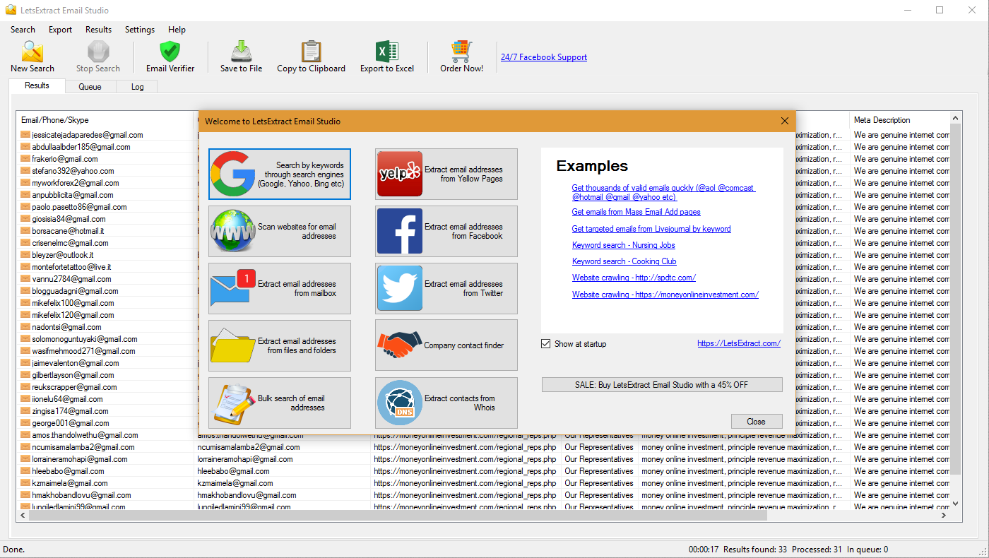 LetsExtract eMail Studio 6.0.0.42140 Crack + Registration Key Download